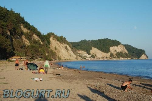 Дальний пляж, Лидзава, рыбзавод
