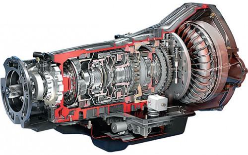 Автоматическая трансмиссия с гидротрансформатором