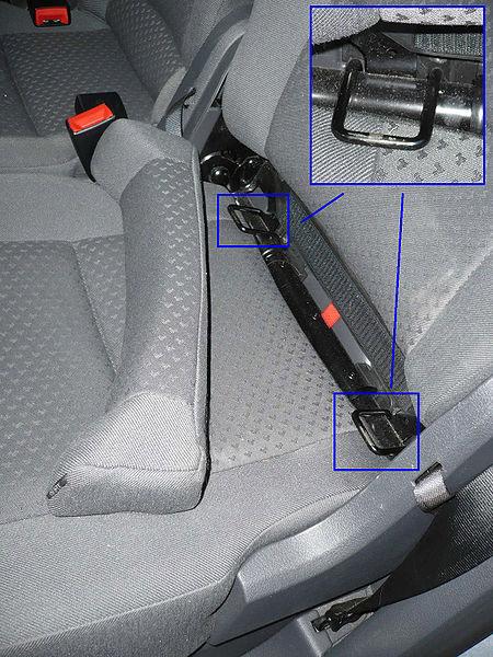 изофикс в машине фото киа