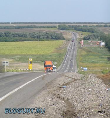 Трасса М4 (2007 год)