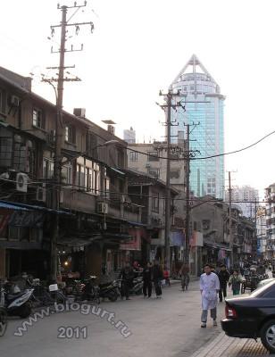 Трущобки Шанхая, 2007 год.
